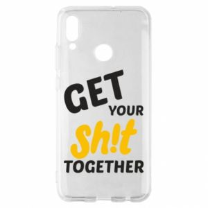 Etui na Huawei P Smart 2019 Get your shit together