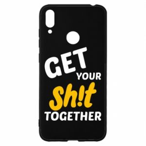 Etui na Huawei Y7 2019 Get your shit together