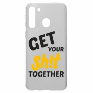Etui na Samsung A21 Get your shit together