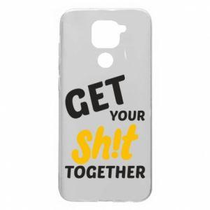 Etui na Xiaomi Redmi Note 9/Redmi 10X Get your shit together