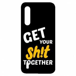 Etui na Xiaomi Mi9 Lite Get your shit together
