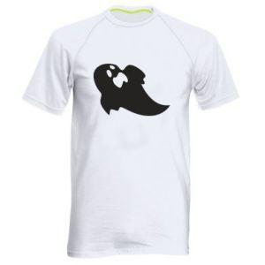 Męska koszulka sportowa Scared ghost