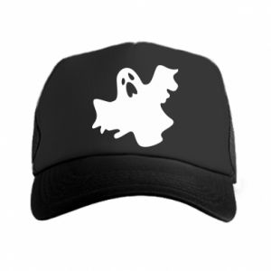 Trucker hat Ghost screams - PrintSalon