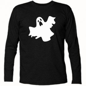 Long Sleeve T-shirt Ghost screams - PrintSalon