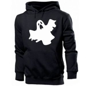 Men's hoodie Ghost screams - PrintSalon