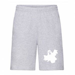 Men's shorts Ghost screams - PrintSalon