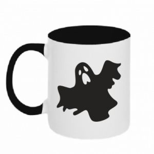 Two-toned mug Ghost screams - PrintSalon