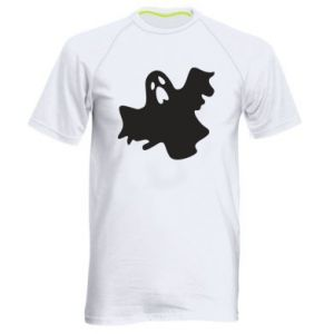 Men's sports t-shirt Ghost screams - PrintSalon