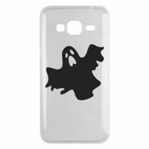 Phone case for Samsung J3 2016 Ghost screams - PrintSalon