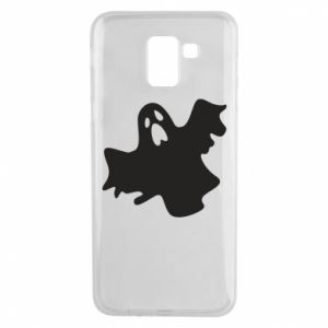 Phone case for Samsung J6 Ghost screams - PrintSalon