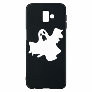 Phone case for Samsung J6 Plus 2018 Ghost screams - PrintSalon