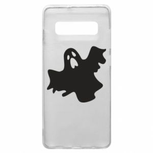 Phone case for Samsung S10+ Ghost screams - PrintSalon