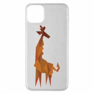 Etui na iPhone 11 Pro Max Giraffe abstraction