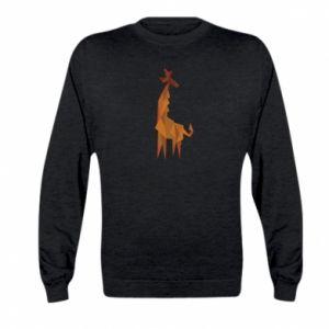 Bluza dziecięca Giraffe abstraction