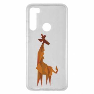 Etui na Xiaomi Redmi Note 8 Giraffe abstraction