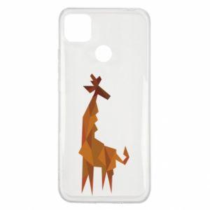 Etui na Xiaomi Redmi 9c Giraffe abstraction