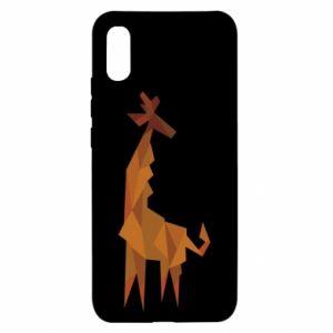 Etui na Xiaomi Redmi 9a Giraffe abstraction