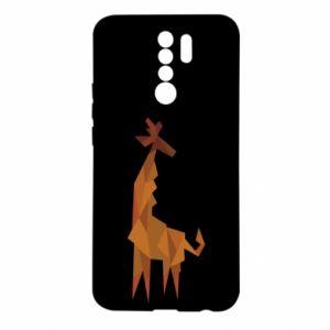 Etui na Xiaomi Redmi 9 Giraffe abstraction