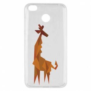 Xiaomi Redmi 4X Case Giraffe abstraction