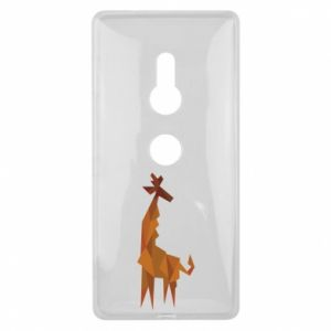 Etui na Sony Xperia XZ2 Giraffe abstraction
