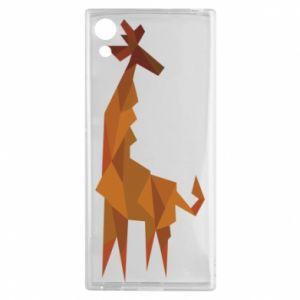 Etui na Sony Xperia XA1 Giraffe abstraction