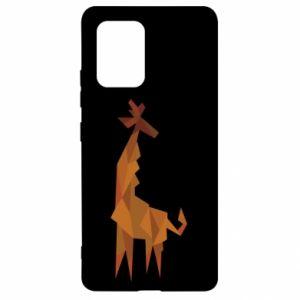Etui na Samsung S10 Lite Giraffe abstraction