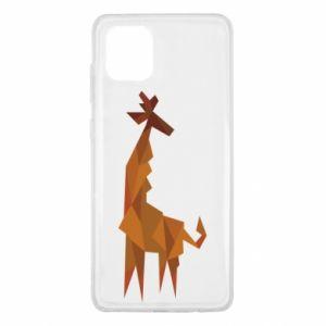 Etui na Samsung Note 10 Lite Giraffe abstraction