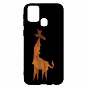 Etui na Samsung M31 Giraffe abstraction