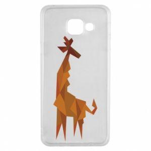 Etui na Samsung A3 2016 Giraffe abstraction