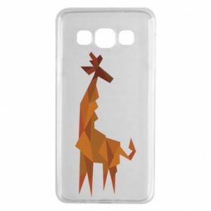 Etui na Samsung A3 2015 Giraffe abstraction