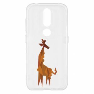 Etui na Nokia 4.2 Giraffe abstraction