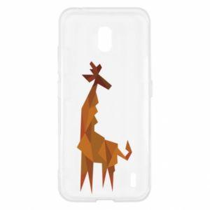 Etui na Nokia 2.2 Giraffe abstraction
