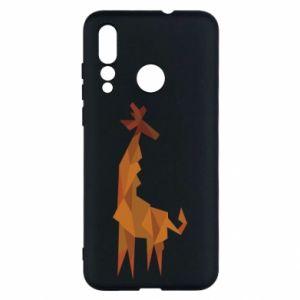 Etui na Huawei Nova 4 Giraffe abstraction