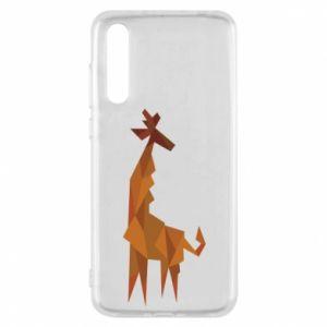 Etui na Huawei P20 Pro Giraffe abstraction