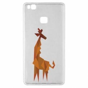 Etui na Huawei P9 Lite Giraffe abstraction