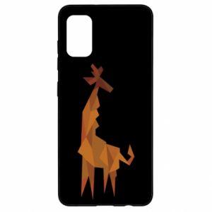 Etui na Samsung A41 Giraffe abstraction