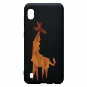 Etui na Samsung A10 Giraffe abstraction