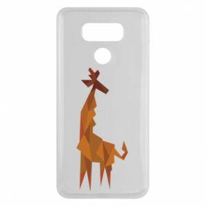 Etui na LG G6 Giraffe abstraction