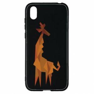 Etui na Huawei Y5 2019 Giraffe abstraction