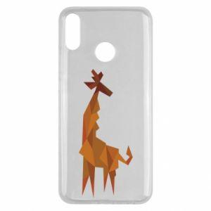 Etui na Huawei Y9 2019 Giraffe abstraction