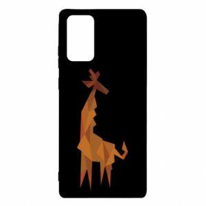 Etui na Samsung Note 20 Giraffe abstraction