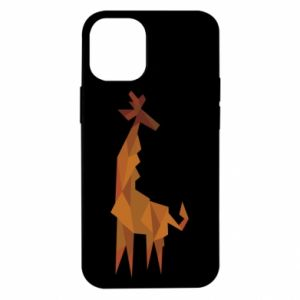 Etui na iPhone 12 Mini Giraffe abstraction