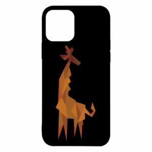 Etui na iPhone 12/12 Pro Giraffe abstraction
