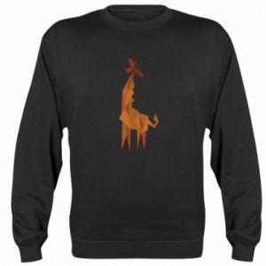 Sweatshirt Giraffe abstraction - PrintSalon