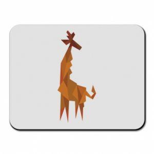 Mouse pad Giraffe abstraction - PrintSalon