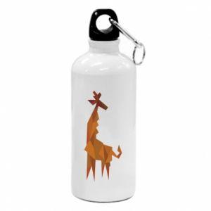 Bidon turystyczny Giraffe abstraction