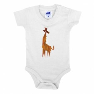 Baby bodysuit Giraffe abstraction - PrintSalon