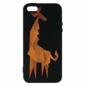 Phone case for iPhone 5/5S/SE Giraffe abstraction - PrintSalon