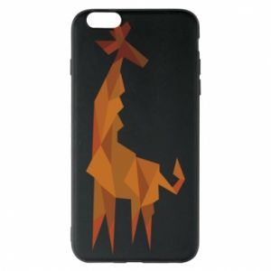 Etui na iPhone 6 Plus/6S Plus Giraffe abstraction