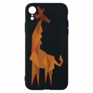 Phone case for iPhone XR Giraffe abstraction - PrintSalon